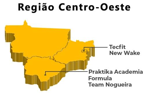 Convênios da Região Centro-Oeste.  - ANAJUSTRA Federal