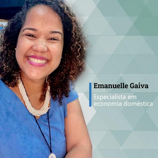 Emanuelle Gaíva vai comandar as aulas 2, 3 e 4 do curso Saindo do vermelho: economia doméstica para servidores. - ANAJUSTRA Federal