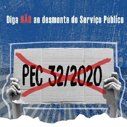 Abaixo-assinado contra a PEC 32/2020. - ANAJUSTRA Federal